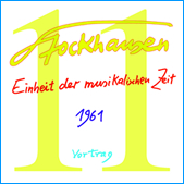 Stockhausen Special Edition Text-CD 11