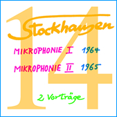 Stockhausen Special Edition Text-CD 14