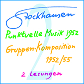 Stockhausen Special Edition Text-CD 2