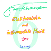 Stockhausen Special Edition Text-CD 6