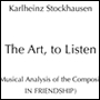 The Art, to Listen