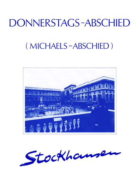 DONNERSTAGS-ABSCHIED