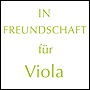 IN FREUNDSCHAFT for viola