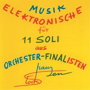 Rehearsal - CD Electronic music for 11 soli