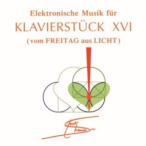 Rehearsal - CD Electronic and Concrete Music for KLAVIERSTÜCK XVI