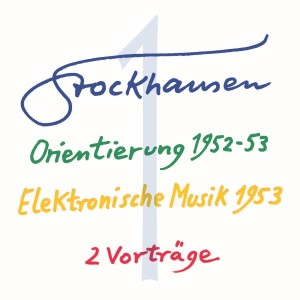 Stockhausen Special Edition Text-CD 1