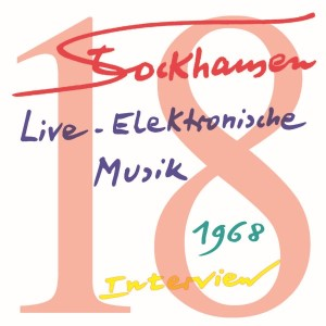 Stockhausen Special Edition Text-CD 18