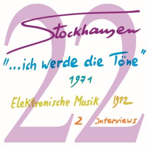 Stockhausen Special Edition Text-CD 22